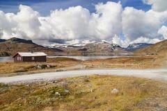 Meseta de la montaña de Hardangervidda Fotografía de archivo libre de regalías