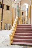 Meseta de Saiq de la calle Fotos de archivo libres de regalías