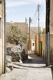 Meseta de Saiq de las calles Fotografía de archivo