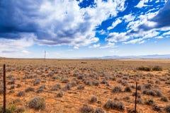 A meseta do Karoo Fotografia de Stock