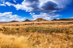 A meseta do Karoo Foto de Stock