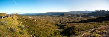 Meseta Valdresflye, Jotunheimen de la montaña Imagen de archivo libre de regalías