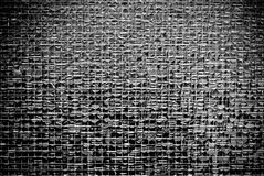 Mesh. A square pattern of mesh in glass Royalty Free Stock Images