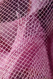 Mesh. This is a closeup shot of pink mesh, like nice abstract background Stock Photography