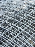 Mesh. Roll of wire mesh Royalty Free Stock Photos