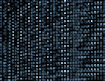 Mesh Background azul cuadrado abstracto Bueno para las ilustraciones del negocio de la tecnología Dots Mosaic Background abstract libre illustration