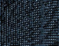 Mesh Background bleu carré abstrait Bon pour l'illustration d'affaires de technologie Dots Mosaic Background abstrait De géométri illustration libre de droits