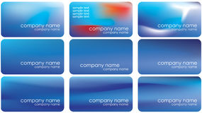 Mesh background business card Stock Photos