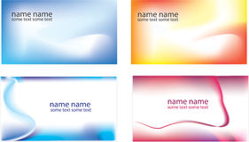 Mesh background business card Stock Images