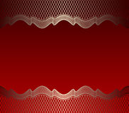 Mesh background red stock photo