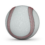 Mesh of baseball Royalty Free Stock Photo