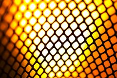 Mesh Black on similar orange flame Royalty Free Stock Image