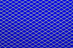 Mesh on blue royalty free stock photography