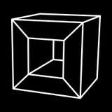 Mesh Cubes-Element Stockbilder