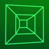 Mesh Cubes-Element Lizenzfreie Stockfotografie