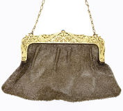 Mesh evening bag Royalty Free Stock Photography
