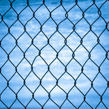 Mesh fence  Stock Photos