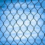 Mesh fence  Stock Photos