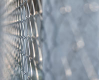Mesh fence Stock Photography