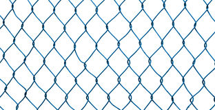 Mesh fence isolated Stock Images