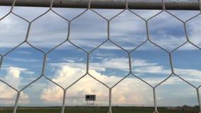 Mesh football stadium. stock footage