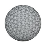 Mesh of golfball Royalty Free Stock Images
