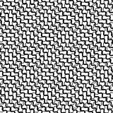 Mesh, grid with intersecting deformed, distorted lines. Seamless Stock Images