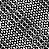 Mesh, grid with intersecting deformed, distorted lines. Seamless Royalty Free Stock Images