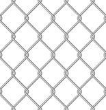 Mesh. Isolated metal wire mesh, seamless pattern Stock Images