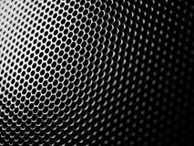 Mesh metal structure background. Meshy metal structure with shallow depth of field Royalty Free Stock Photos