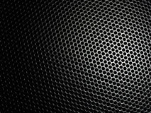 Mesh metal structure background. Meshy metal structure with shallow depth of field Royalty Free Stock Image