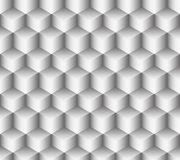 Bright seamless pattern of cubes. Mesh of molecules of the salt in the form of bright seamless pattern of cubes in the form of stairs Royalty Free Stock Photos