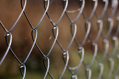 Mesh netting fence texture background Stock Photos