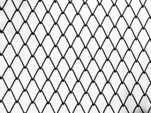 Mesh netting on the white background Stock Photo