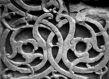 Mesh / ornament. I picture of a stone wall in an Indian temple forming a pattern / ornament Royalty Free Stock Photography
