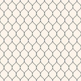 Mesh pattern, thin wavy lines. Abstract Seamless Pattern. Vector seamless pattern, thin wavy lines. Texture of mesh, fishnet, lace, weaving, smooth grid, subtle Stock Photography