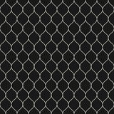 Mesh pattern, thin wavy lines. Vector seamless pattern, thin wavy lines. Dark texture of mesh, fishnet, lace, weaving, subtle lattice. Simple monochrome Royalty Free Stock Images