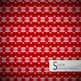 Mesh red rose geometric seamless pattern vector   Royalty Free Stock Photo