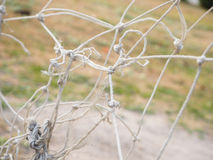 Mesh rope knotted Stock Images
