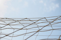 Mesh rope knotted Stock Image