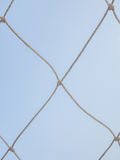 Mesh rope knotted Royalty Free Stock Images
