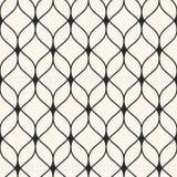Mesh Seamless Pattern Fond abstrait, lignes onduleuses minces Images libres de droits