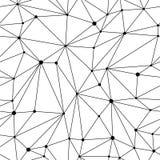 Mesh Seamless Pattern géométrique Photos libres de droits