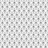 Mesh seamless pattern, thin wavy lines, delicate lattice Stock Image