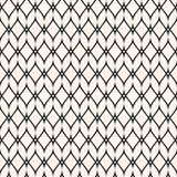 Mesh seamless pattern, thin wavy lines. Texture of lace, weaving, net, lattice. Subtle monochrome geometric background. Design for prints, fabric, textile royalty free illustration