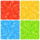 Mesh Seamless Patterns geométrico libre illustration