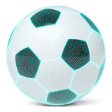 Mesh of soccerball Stock Images