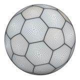 Mesh of soccerball Royalty Free Stock Photo