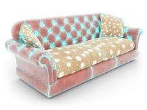 Mesh of sofa Royalty Free Stock Photos