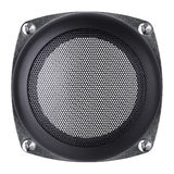 Mesh of the speaker Stock Images